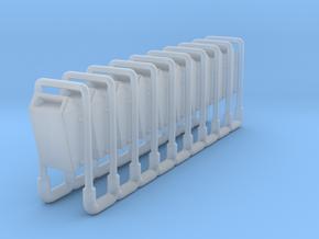 Parkmülleimer 1zu160 10x in Smoothest Fine Detail Plastic