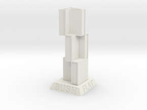 """BK-14: """"New Victorian"""" by Future Expansion in White Natural Versatile Plastic"""