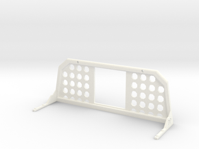 1/10 scale MEGA RAM HEAD ACHE RACK in White Processed Versatile Plastic