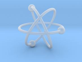 Atom in Smoothest Fine Detail Plastic
