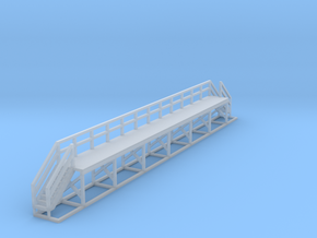 N Scale Train Maintenance Platform DOUBLE STAIRS in Smooth Fine Detail Plastic