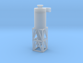 N Scale Cyclone Separator in Smooth Fine Detail Plastic