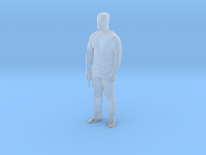 Printle C Homme 424 - 1/87 - wob in Smooth Fine Detail Plastic