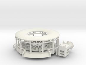 Raupenbahn - Antrieb 1:220 in White Natural Versatile Plastic