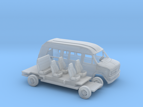 1/160 1988 Chevrolet G-Van Conversion Kit in Smooth Fine Detail Plastic