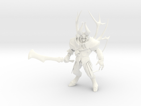 Dota2 figurine : Doom in White Processed Versatile Plastic
