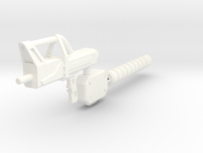 PROTOTYPE SpacegunonRunner in White Processed Versatile Plastic