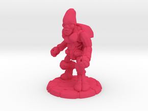 Pillthug, Brawler in Pink Processed Versatile Plastic: Small