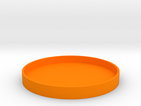 Okito Box Lid - USA Dollar in Orange Processed Versatile Plastic