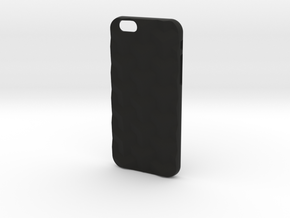 iPhone 6S case_Cube in Black Premium Strong & Flexible
