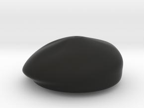 Beret in Black Premium Versatile Plastic