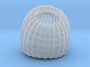 Brain Coral: Jewellery in Smooth Fine Detail Plastic
