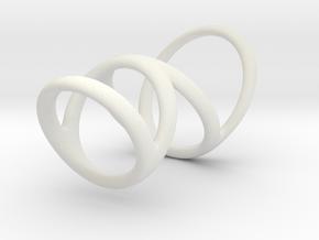 Ring splint for Kristen D1 13-9 D2 16-5 D3 20-32 L in White Premium Versatile Plastic