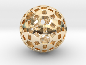 Spherical in 14K Yellow Gold