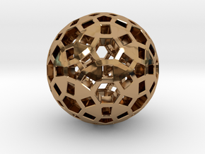 Spherical in Polished Brass