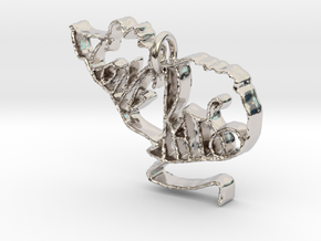 Cong Rats in Rhodium Plated Brass