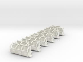 downdraft seats in White Natural Versatile Plastic