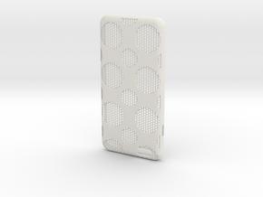 iPhone 6 plus / 6S plus Case_Dots in White Premium Strong & Flexible