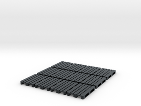1/72nd scale Pallet pack (12 pieces) in Black Hi-Def Acrylate