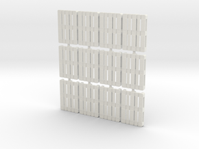 1/56th scale pallet pack (12 pieces) in White Natural Versatile Plastic