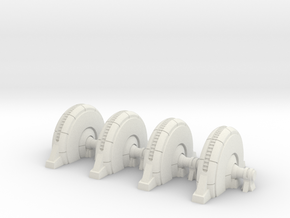 Shield Generator - Hoth  in White Natural Versatile Plastic