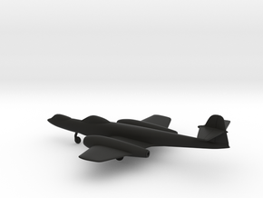 Gloster Meteor F8 Prone Pilot in Black Strong & Flexible: 1:160 - N