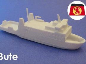 MV Bute (1:1200) in White Natural Versatile Plastic