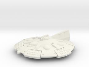 Martian Zhukov class Light Cruiser in White Premium Versatile Plastic