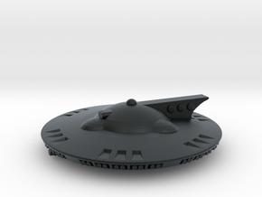 Martian Aelita class Corvette in Black Hi-Def Acrylate