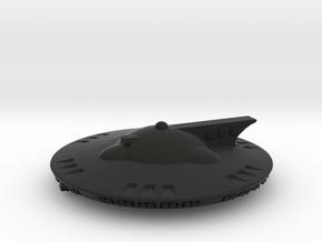 Martian Aelita class Corvette in Black Premium Versatile Plastic