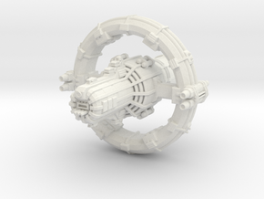 Jovian Europa class Command Carrier in White Premium Versatile Plastic