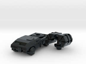 Terran Guided Missile Truck in Black Hi-Def Acrylate