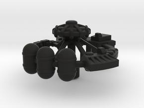 Orbital Factory in Black Premium Versatile Plastic