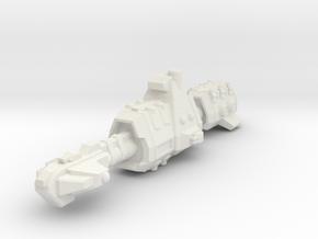 USASF Destroyer in White Premium Versatile Plastic