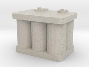 1/10 r/c battery in Natural Sandstone