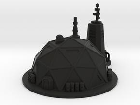 Prefab Dome in Black Premium Versatile Plastic