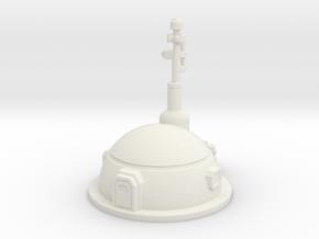 Small Dome Habitat in White Premium Versatile Plastic