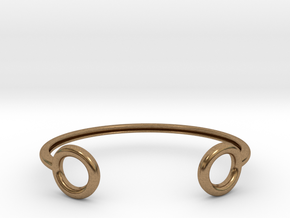 flux in Natural Brass: Large