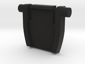 Das Keyboard Foot in Black Natural Versatile Plastic