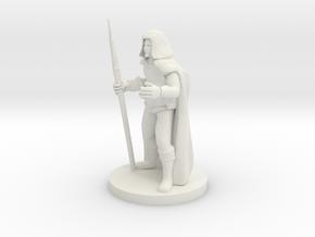 Unicorn Staff Sorcerer in White Natural Versatile Plastic