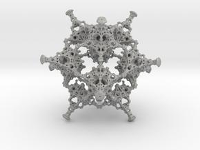 Rotated Icosahedron in Aluminum