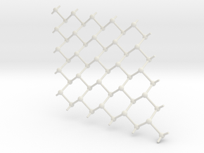 Grey arsenic in White Natural Versatile Plastic