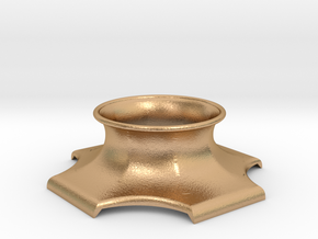 """The Universe Sphere Base """"LED Fitting"""" in Natural Bronze"""