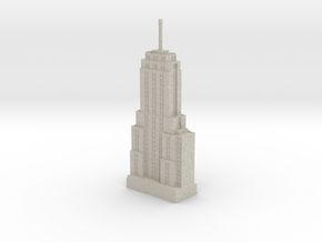 Palmolive Building (1:1200 scale) in Natural Sandstone