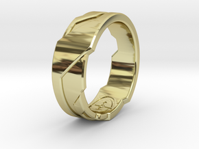 GD Ring (Choose Size Below) in 18K Gold Plated