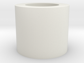 "Neopixel Hilt plug 1"" TCSS V2 in White Natural Versatile Plastic"