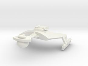 3125 Scale Klingon SD7B Unrefitted Strike Cruiser in White Natural Versatile Plastic