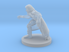 Masked Wizard in Smooth Fine Detail Plastic