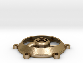 Rostock water cooled effector attachment. in Polished Gold Steel