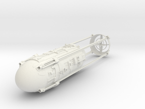 1/48 Y-Wing Nacelle (Left) in White Strong & Flexible